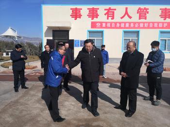 鶴壁市委書記馬富國蒞臨元昊調研生產經營工作
